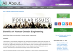 Image link to Benefits of Genetic Engineering in Humans